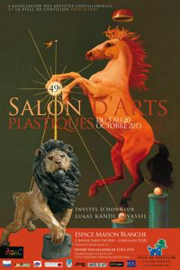affiche salon-art- chatillon 2013