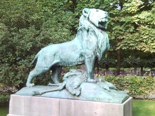 Sortie dessin animalier au jardin du Luxembourg