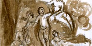 Compositions, aquarelles dessins artistiques
