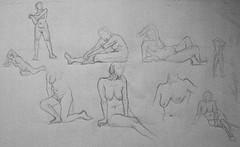 9 études de nu féminin MC