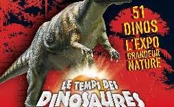 Exposition Le Temps des Dinosaures porte de Versailles Paris