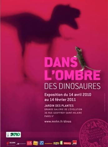 Exposition MNHN Dans l'ombre des dinosaures
