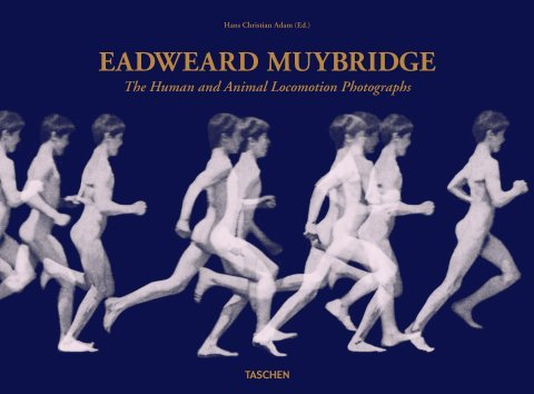 Couverture du livre d' animation Eadweard Muybridge, The Human and Animal Locomotion Photographs