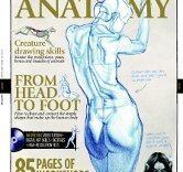 Livre d'anatomie corps humain et animaux pour dessiner d'après les volumes