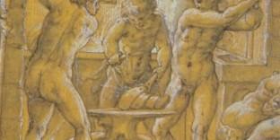 Giorgio Vasari (1511-1574), La Forge de Vulcain ou Thétis dans la forge de Vulcain (détail), département des Arts graphiques, musée du Louvre
