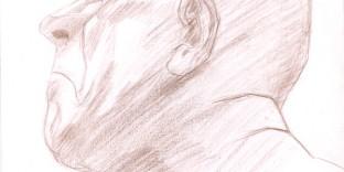 Collection de dessins série Expression. Format A4 21 x 29,7 cm. Dessins au crayon © Fabien Lesbordes dessinateur Vectanim 2011. Paris, France
