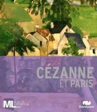 Affiche de l'exposition Cézanne et Paris au musée du Luxembourg