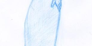 Dessin au crayon croquis de mode stylisme © Fabien Lesbordes dessinateur Vectanim 2011