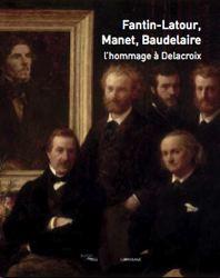 Affiche de l'exposition hommage à Delacroix Paris