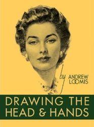 Couverture du livre de dessin Visges et mains Andrew Loomis