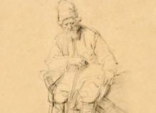Affiche de l'exposition Rembrandt aux beaux-arts de Paris