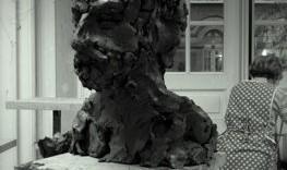 Esquisse sculpture de portrait Frederico de 3/4 gauche