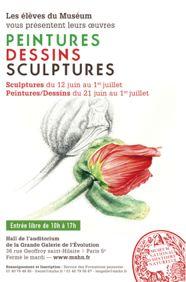 Affiche expo dessin botanique animalier museum jardin des plantes 2012