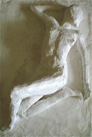 Statuette murale Le désir