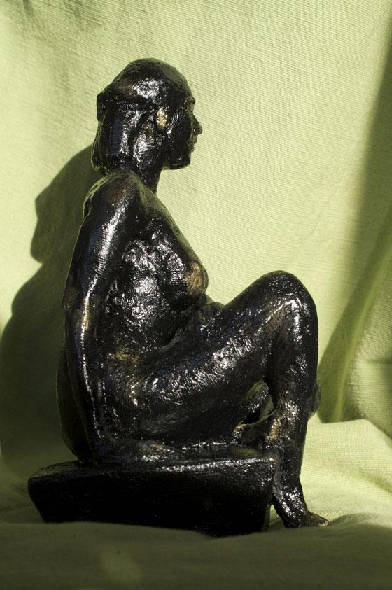 Statue nymphe Seine paris