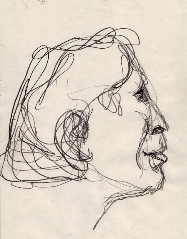 Portraits Illustrations Aquarelle Graphite Encre Couleur