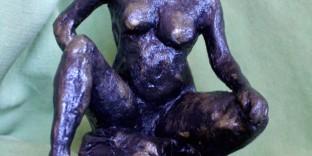 Statuette femme sans visage