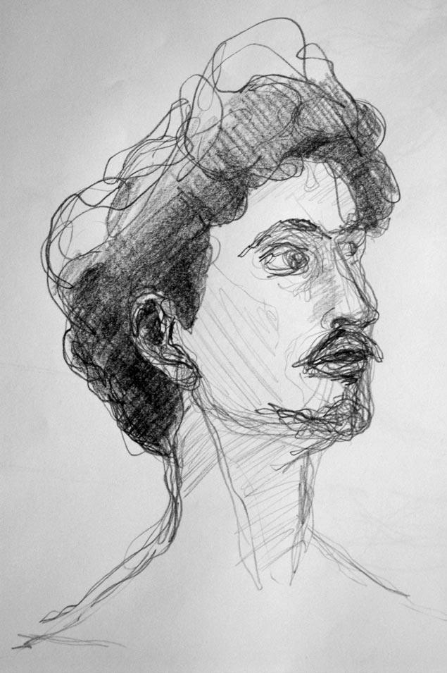 Rémi Constant portrait chanteur